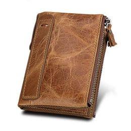 Wholesale Dark Blue Clutch Purse - wholesale men Wallets Female Genuine Leather women wallet coin purse small clutch card holder women's purse with zipper