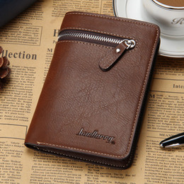 Wholesale Man Real Leather Clutch Business - Men Real Leather Fashion Business Clutch Wallet Credit Card Holder Fashion Zipper Short Purse For Men