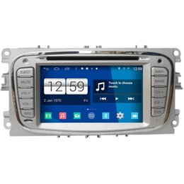 Wholesale Dvd Gps Ford Mondeo - Winca S160 Android 4.4 Car DVD GPS Headunit Sat Nav for Ford Mondeo 2007 - 2011 with Radio Wifi 3G OBD Video Player