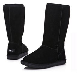 Wholesale Boot Bags - 2015 XMAS GIFT High Quality BGG Women's Boots Womens tall boots Boot Snow boot Winter boots With certificate dust bag US size5--13