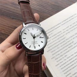 Wholesale Masterpiece Men - Swiss brand Classic masterpiece men's Watch 40mm men first choice brand watches mineral glass High quality Business Casual quartz watch AAA