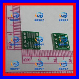 Wholesale Soic 8pin - Lead-free SOP MSOP TSSOP SOIC sop8 dip8 wide-body and narrow-body adapter plate PCB 8pin