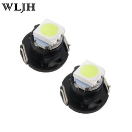 Wholesale Radio Controls - WLJH T3 T4.2 T4.7 LED Neo Wedge Switch Radio Climate Control Bulb Instrument Dashboard Dash Indicator Light Bulb Ac Panel Bulb