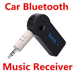 Wholesale Edup Mini Wireless - Wireless Car Bluetooth Receiver Adapter AUX Audio A2DP EDUP V3.0 Transmitter Stereo Music Mini Portable 3.5mm With Mic Hands Free