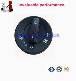 Wholesale Skoda Switch - New OEM quility Headlight Switch for Skoda Octavia II OE:1Z0 941 431   1ZD 941 431E GREEN LIGHT!