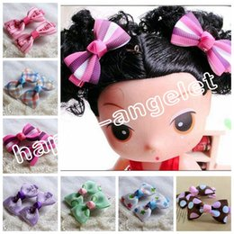 Wholesale Diy Hair Clip Accessories - 100pcs 2INCH DIY mini Children's Hair Accessories Baby Girls Sweet hair bows clips hairpin Alligator clip jewelry bobby Barrette HD3304