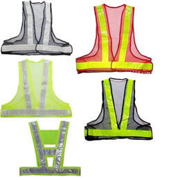 Wholesale Wholesale Reflective Safety Vests - New items hot sale Adjustable waist size High Visibility Reflective Safety Vest Security Reflective Warning Clothing For Traffic Constr