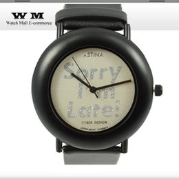 Wholesale Cheapest Casual Watch - Hot sell cheapest Mens watch letter print white dial wrist watches rubber belt casual Sport Watch brief analog classic WA0520X