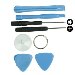 Wholesale Set Tools Disassemble For Phone - 7 in1 Opening Pry Tools Screwdriver Repair Moble Phone Disassemble Kit Set for Apple iPhone 3GS 4 4S 5 iPod Touch Tablet etc