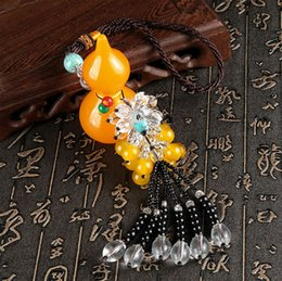 Wholesale Tang Jewelry - The new car perfume pendant resin crystal pendant jewelry high-end automobile ornaments gourd gift wholesale