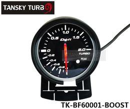 Wholesale Cars Boost - Tansky -- METER GAUGE OF CARS Defi 60MM BOOST GAUGE (light:red&white) Black Bracket original color box TK-BF60001-BOOST