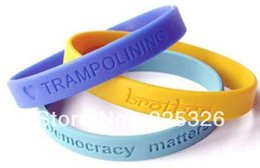 Wholesale China Charms Suppliers - Deboss Logo Wristband Suppliers & silicone wristbands Manufacturers Hotel promotional gifts Advertising debossed hand band
