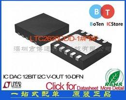 Wholesale I2c Dac - Free shipping LTC2626CDD-1 # PBF IC DAC 12BIT I2C V-OUT 10-DFN LTC2626CD 100%New original