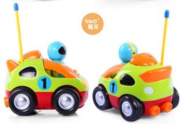 Wholesale Remote Control Cars Sound - Cartoon R C Race Car super and lovely Multicolor children's toys Radio Control Vehicles Make sound Remote control car