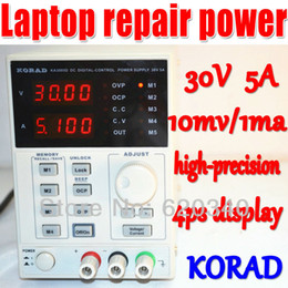 Wholesale Power Supply Adjustable 5a - free shipping KA3005D high precision Adjustable Digital DC Power Supply 4Ps mA 30V 5A for scientific research service Laboratory order<$18no