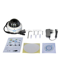Wholesale Wireless Outdoor Security Web Camera - Original ESCAM Q645R ONVIF 720P Network Security IR Dome Camera CCTV P2P Wireless Outdoor IP Camera IP66 Waterproof Web Camera