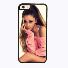 Wholesale S4 Mini Casing - Ariana Grande cell phone case for iPhone 4s 5s 5c 6 6s Plus ipod touch 4 5 6 Samsung Galaxy s2 s3 s4 s5 mini s6 edge plus Note 2 3 4 5
