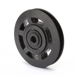 Wholesale Roller Bearing Wheels - 1pc General Fitness Equipment Parts Bearing Roller Wheel Cable 95mm ABS Material More Durable for Most of Fitness Equipment order<$18no trac
