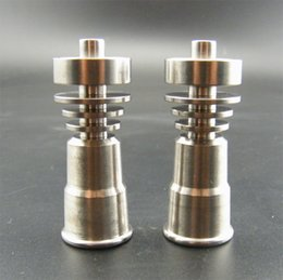 tubos de agua de cristal de china Rebajas Venta al por mayor clavo de titanio clavos de titanio clavo de titanio 14 18 mm para el tubo de agua bong de vidrio fumar hecho de China