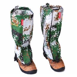 Vente en gros-AOTU New Outdoor Camouflage Gaiters résistant à l'eau Protection des jambes Garde Ski Randonnée Camp Escalade Protéger Équipement Accessoire ? partir de fabricateur