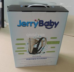Wholesale Designer Baby Slings - Wholesale jerrybaby Functional Front Back Classic Popular Baby Carrier Best Designer Carrier Baby Product Sling Wrap WY55 100p