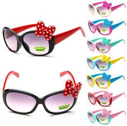 óculos de sol bonitos dos miúdos Desconto Bow Boys Óculos de sol Cartoon  Kids Goggle Girls e095fe0359