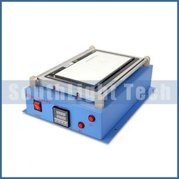 Wholesale Lcd Screen Separating Machine - Wholesale Original New For Ipad Tablet LCD Separating Machine with Vacuum Pump inside For laptop Touch Screen Glass Lens Separator Equipment