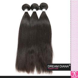 Wholesale Beauty Queen Peruvian Hair - Peruvian Straight Virgin Hair 3Bundle Queen Weave Beauty Ltd Virgin Hair 7a Peruvian Virgin Hair Remy 100% Human Hair Weave Ali Moda Hair