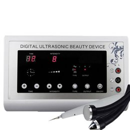 Wholesale Ultrasound Instruments - 3 in1 1.1MHz Ultrasonic Ultrasound skin Spot remover Mole Tattoo Removal Body Therapy Face spa device Massage instrument Beauty Machine
