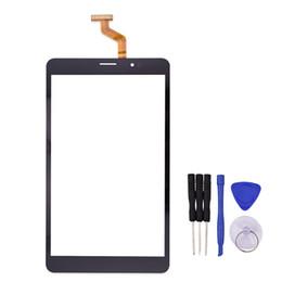Tableta texet online-Venta al por mayor- Nueva pantalla táctil negra de 8 pulgadas para TEXET X-pad NAVI 8.2 3G TM-7859 Tablet Digitalizador Reemplazo con herramientas de reparación gratuitas