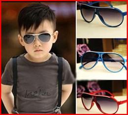 Quadros infantis modernos on-line-2016 Novo Design Chrismas Crianças Óculos De Sol Na Moda Sapo quadro de vidro óculos de sol para Crianças Moda Infantil Óculos De Sol Quadros 100 pc / lote