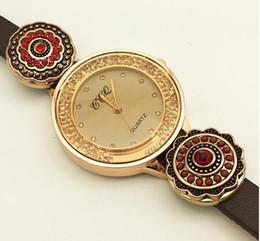 Nuevas pulseras con dijes Pulsera One Direction Retro Watch Pulsera con botón superior de cuero (Ajuste 18mm 20mm Snaps) Tp891, TP890, TP598, TP8536 desde fabricantes