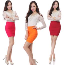 Wholesale Tight Mini Orange Skirt - Newest Sexy Womens OL High Waist Stretchy Tight Bodycon Stretchy Pencil A LINE Mini Skirt Slim