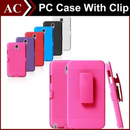 Wholesale Galaxy S3 Clip - Future Armor Impact Hybrid Hard PC Case + Belt Clip Holster Kickstand Combo Cover For iPhone 5 5S 6 Plus Galaxy S3 S4 S5 S6 S6 Edge Note 3 4