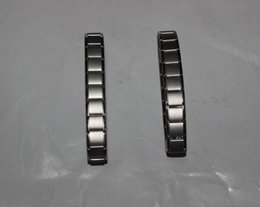 Wholesale Mens Bracelet Titanium - 2015 Magnetic Energy Bracelet Balance Mens and Women's Titanium Power Nano Energy bracelet 80 Germanium Stones