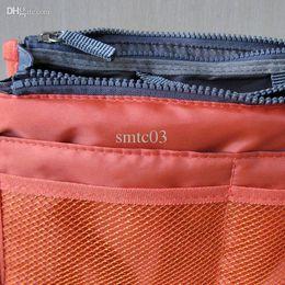 Wholesale Ipad Purse Organizer - Wholesale-wholesale New Large Women's Insert Handbag Tidy Bag Internal Organizer Purse Pouch in Bag Storage For Ipad cosmetics