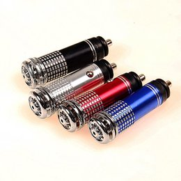 Wholesale Wholesale Air Bar - Air Purifier New 12V Mini Auto Car Fresh Air Ionic Purifier Oxygen Bar Ozone Ionizer Cleaner A3