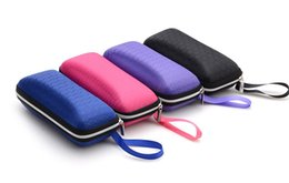 Wholesale Eyeglasses Cases Free Shipping - 2016 Fashion eyeglasses EVA case Glasses Box eyewear case for Reading Glasses and optical frame free shipping
