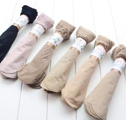 Wholesale Sexiest Heels Wholesale - Women Socks sexy women girl rayon socks summer Ankle socks high heels stockings mixed colors gift