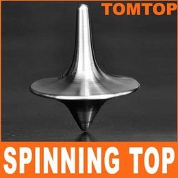 Wholesale Spinning Totem - Hot Sale from the Inception Movie Spinning-Top with Zinc alloy silver Inception Stainless Steel Spinning Top Totem Free Shipping