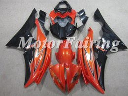 Wholesale Yamaha R6 Orange - Free Gifts Injection Fairings for R6 2008 YZF- R6 2009 2010 2011 2012 2013 2014 R6 2016 Black Orange ABS