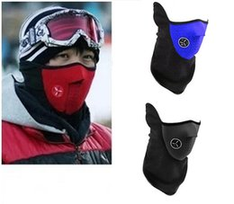 Wholesale Cheapest Motorcycle Bicycle - Cheapest New Neoprene Neck Warm Half Face Mask Winter Veil Windproof For Sport Bike Bicycle Motorcycle Ski Snowboard Outdoor Mask