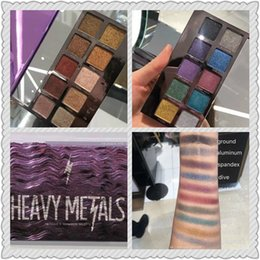 Wholesale Palette Metal - TOP QUALITY! 2017 NEWEST makeup decay heavy metals Christmas limited-edition 20 colors eyeshadow palette free shipping