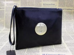 Wholesale Large Leather Makeup Bag - Fashion Brand Mimco Wallet Women PU Leather Purse Wallet Large Capacity Makeup Cosmetic Bags Ladies Luxury Shopping Evening Bag