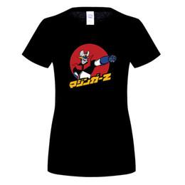 Wholesale Free Shirts Online - Short Sleeve Men's T Shirt Cartoon Anime Mazinger Z woMens T-Shirts Free Shipping Hombre Hot Selling Online Tshirt Design