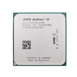 Wholesale Processor Dual Core Am3 - AMD CPU Athlon II X2 220 CPU 2.8GHz Socket AM2+ AM3 938PIN dual-core 65w processor scrattered pieces