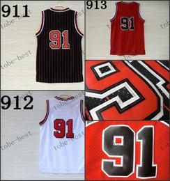 Wholesale 91 Jersey - #91 2015 Cheap Rev 30 Basketball Jerseys Embroidery Sportswear Jersey S-3XL 44-56 free shipping high quality