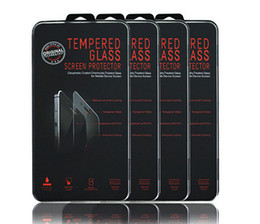 Wholesale Iphone5 Package - 2.5D Tempered Glass For iphone5 iphone7 iphone7 plus iphone6 Galaxy s6 s5 Screen Protector Film with Crystal box Retail Package