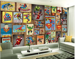 Superhero Wall Murals superhero wall murals bulk prices | affordable superhero wall