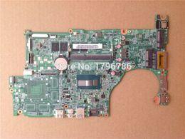 Wholesale Acer Support Aspire - Wholesale-Original laptop motherboard for Acer Aspire M5-583P V5-573P SR170 NBMBQ11001 motherboard DAZRQMB18FO Intel DDR3 Integrated
